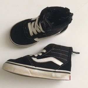 Vans | Toddler high top shoes size 5